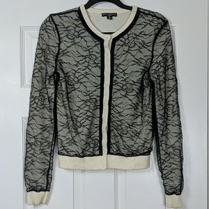 Behnaz Sarafpour for Target Lace Overlay Cardigan